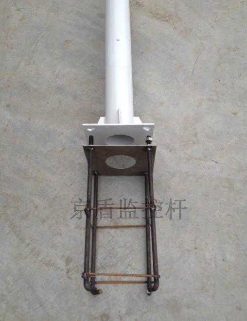 监控杆预埋件|小区监控杆预埋件基础件|小区摄像机监控杆预埋件基础件